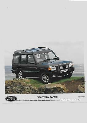 Land Rover Discovery Safari Original Press Photo 'brochure'connected'