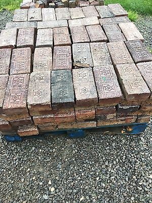 Antique Star Glazed Bricks. Price For One Brick.  Buy As Many As You Lije