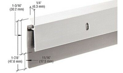 "Aluminum and Rubber Door Sweep for 48"" Door"