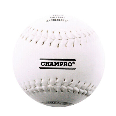"""Champro 12"""" Safety Baseball - Synthetic Leather Cover (Bacblsls12Rp)"""