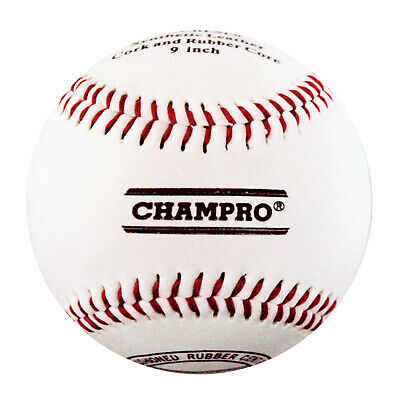 Champro 9″ Safety Baseball -  Cushioned Rubber Centre (Bacblss9Rp)