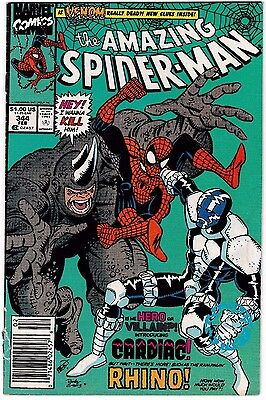 AMAZING SPIDER-MAN 344 VG/FN 1st Appearance of Cletus Kasady a.k.a CARNAGE! 1991