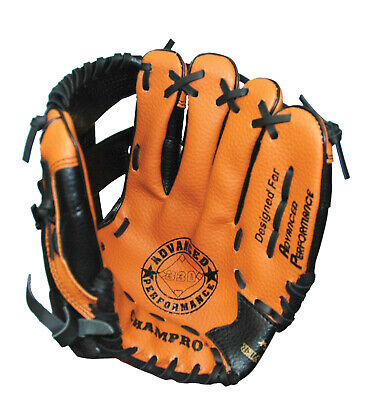 Champro Fielders Glove 10.5″ - Ap330 - Tan / Black - Left Hand Or Right Hand