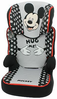 TT Disney Mickey Mouse Groups 2-3 Red Booster Car Seat. The Official Argos Store
