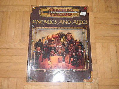 D&D Dungeons and Dragons 3.5 D20 Enemies and Allies Accessory