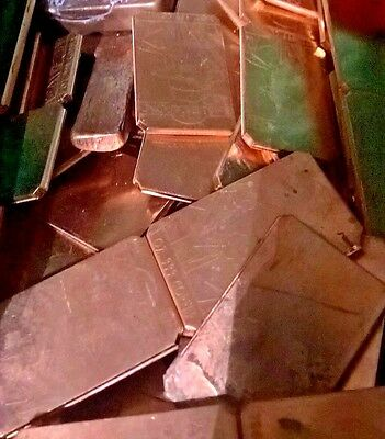 100 Oz. Defective .999 Fine Copper Crackers Various styles Free Shipping