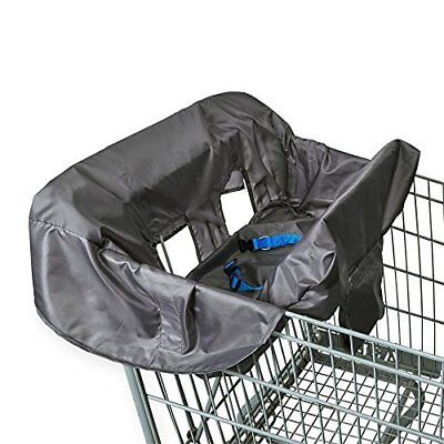 Babies R Us Shopping Cart & High Chair Cover - Grey New