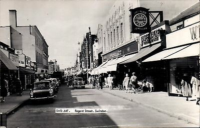 Swindon. Regent Street # SWD.64F by Frith. Woolworth's.
