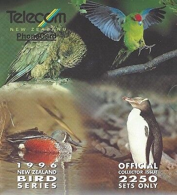 TK Telefonkarte/Phonecard 1996 Telecom New Zealand - Birds
