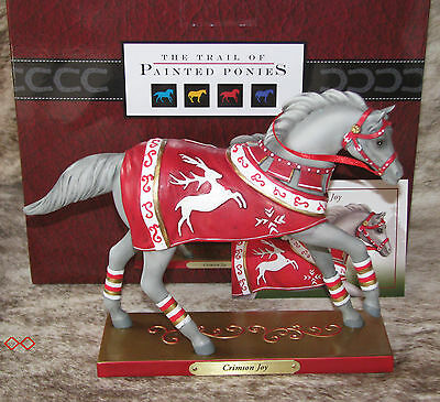 TRAIL OF PAINTED PONIES Crimson Joy~VeryLow 1E/0047~Fancy Christmas Horse Outfit