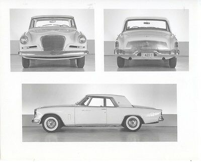 1962 Studebaker GT Hawk ORIGINAL Factory Photo oua5705