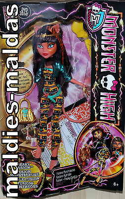Monster High Cleolei Fatale Fusion Fusions Hybriden CCB41 NEU/OVP Puppe