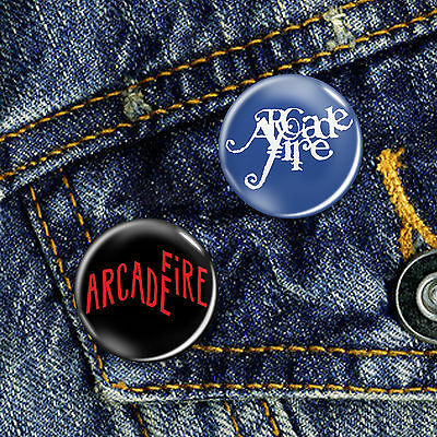 Arcade Fire Button Badge 25mm, CHOICE OF 2