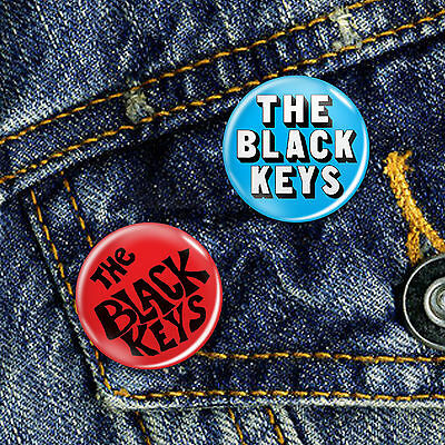 The Black Keys Button Badge 25mm, CHOICE OF 2