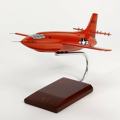 USAF Bell X-1 Chuck Yeager Desk Display Model Rocket 1/32 Aircraft ES Airplane