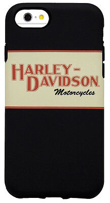 Harley Davidson iPhone 8 and iPhone 7 Orange and Tan Hybrid Protective Cover
