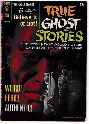 RIPLEY'S BELIEVE IT OR NOT! TRUE GHOST STORIES #2 (VG+) 1966 Classic Gold Key