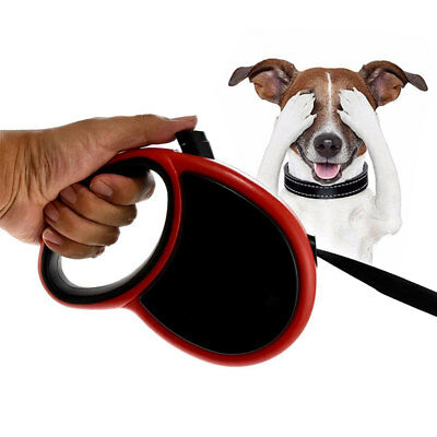 23 FT Retractable Dog Pet Leash Automatic 80 Lbs Heavy Duty Large Rope Lead Cord
