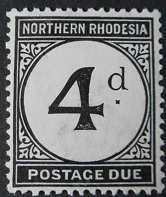 Northern Rhodesia 1929 4d Postage Due SG D4 mint