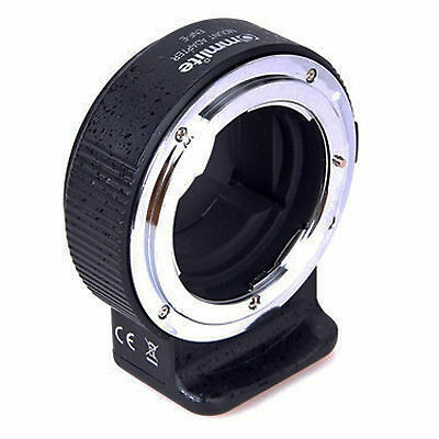 Commlite Comix Nikon F Lens to Sony E-Mount Camera Mount Adapter *NEW*