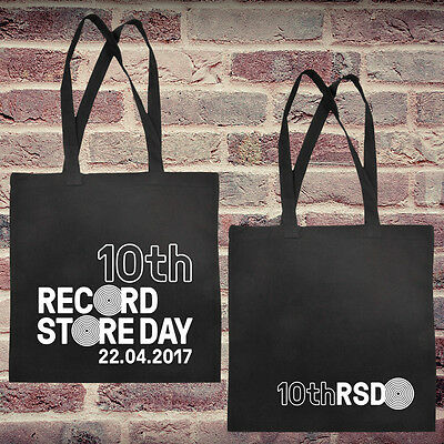 Record Store Day 2017 Tote Bag / Cotton Shopper Official Merchandise + Goody Bag