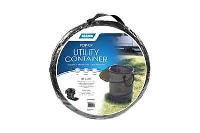 Camco Collapsible Utility Container New Rubbish Laundry Storage Bin Camping RV