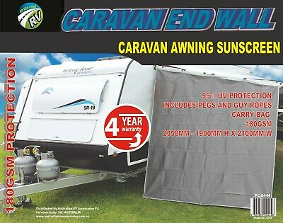 Caravan Awning End Walls New Privacy Screen Sun Shade Accessories Parts