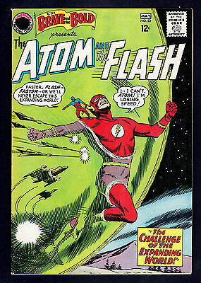 1964 DC Brave and the Bold #53 VG Flash Atom