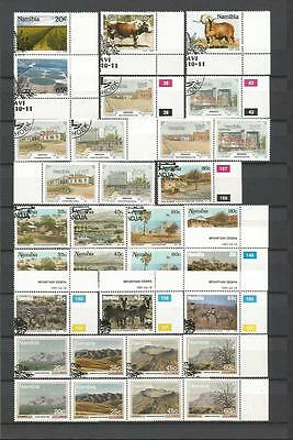 NAMIBIA 1990-1993 NICE SELECTION MNH**/USED CTO/FDC (10 Scans)