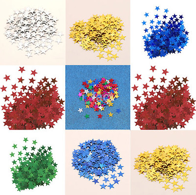 Hot 1000pc Star Confetti Table Scatter Wedding Anniversary Decoration DIY US