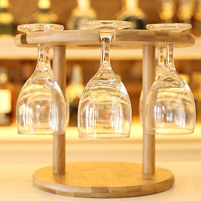 New Wine Rack Bottle & Glass Holder Kitchen Bar Champagne Stand Storage Bracket