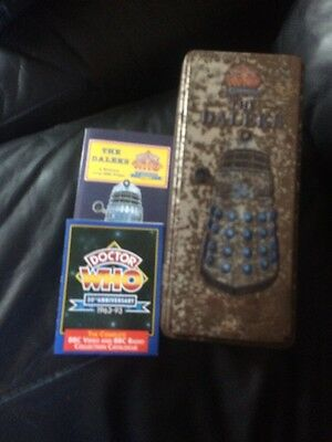Doctor Who The Daleks 30th Anniversary Limited Edition Collectors Box Set VHS
