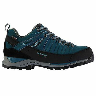 Karrimor Womens Hot Rock Low Walking Shoes Lace Up Waterproof Leather Outdoor