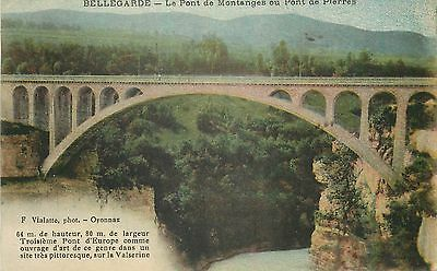 Cp Bellegarde Pont De Montanges