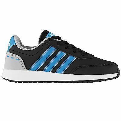 adidas Kids Switch Nubuck Trainers Boys Shoes Lace Up Colour Contrasting Casual