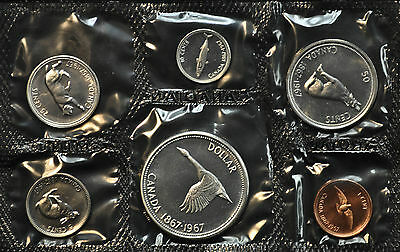 "1967 Uncirculated Silver ""Proof-Like"" Set"