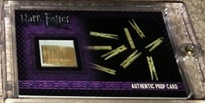 Harry Potter Artbox Deathly Hallows Clothes pegs from Tent Prop card Variant P12