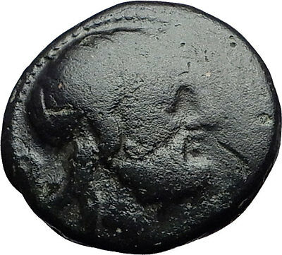 AMPHIPOLIS 168BC Authentic Ancient Greek Coin for MACEDONIA Poseidon Club i59748