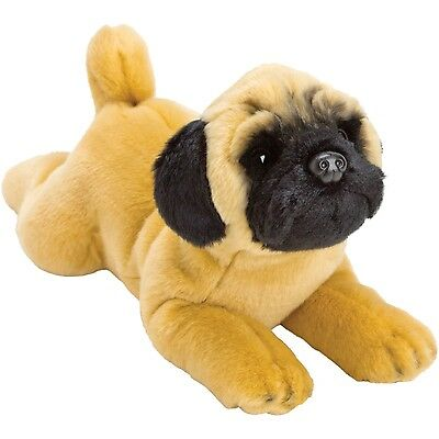 Suki Yomiko Classics Medium Plush Life Like Pug Resting Dog Lovely Unisex Gift