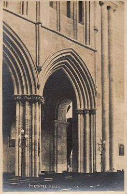 PERSHORE(Worcestershire) : Abbey interior  RP