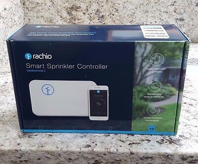 Rachio 16 Zone Smart Sprinkler Controller (2nd Generation 16ZULW-B) NEW