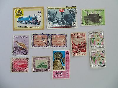 L1535 - Collection Of Mixed Middle East Stamps
