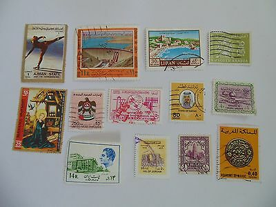 L1538 - Collection Of Mixed Middle East Stamps