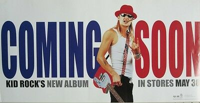 Kid Rock 2000 History Of Rock rare advance promotional poster Mint Condition