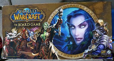 World Of Warcraft Board Game 99.99% Complete Great Condition