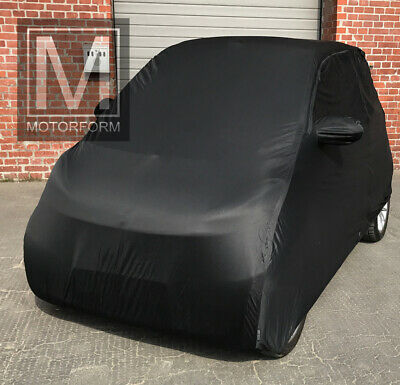 Smart ForTwo For Two bis 2013 Indoor Auto Cover Stoffgarage schwarz superweich