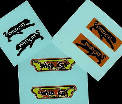 MATCHBOX SUPERFAST 8f WILDCAT DRAGSTER TRANFSERS/DECALS