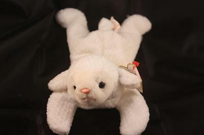 Ty Beanie Baby Fleece LAMB SHEEP 1996 PVC PELLET Vintage ORIGINAL MWT