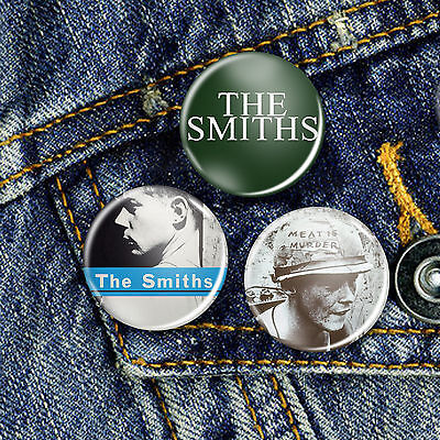 The Smiths Indie Pin Button Badge 25mm, CHOICE OF 3