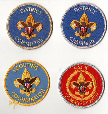 Boy Scouts of America Committee Scout Wolf Pack District Commissioner Badges 15